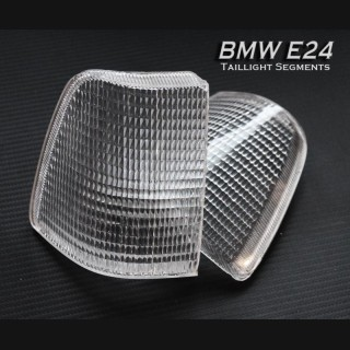 1976-1989 BMW e24 Clear Tail Light Segments