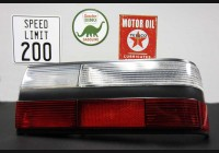 1981-1988 BMW e28 Clear Tail Light Segments