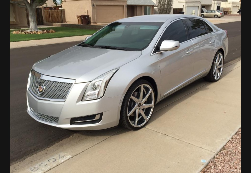 2012+ Cadillac XTS Clear Side Markers