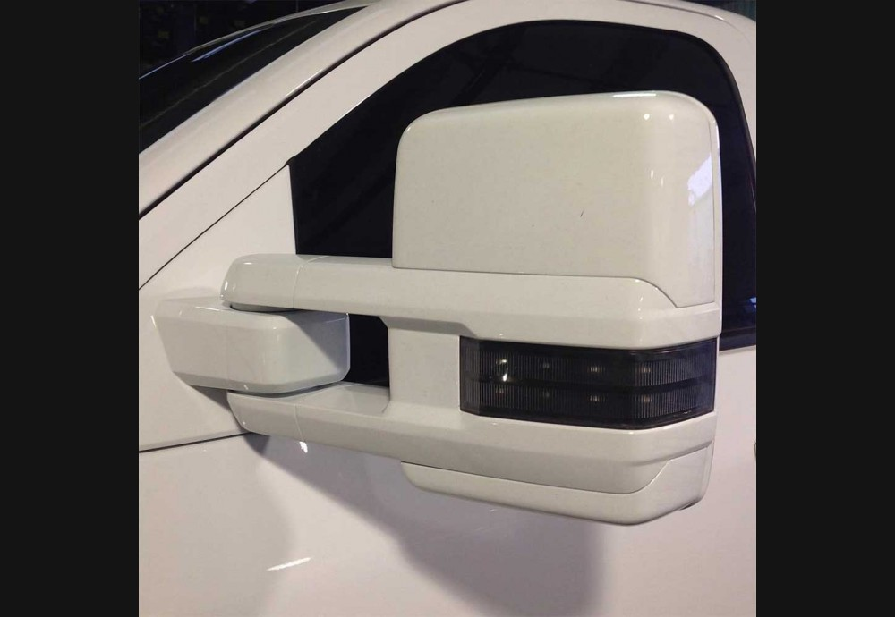 2014 18 Silverado Clear Mirror Lenses