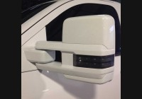 2014+ Silverado Clear Tow Mirror Lenses