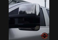 2014-18 Silverado Clear Tow Mirror Lenses