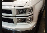 2014-15 Silverado Clear Headlight Markers (Halogen)