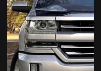 2016-18 Silverado Clear Headlight Markers