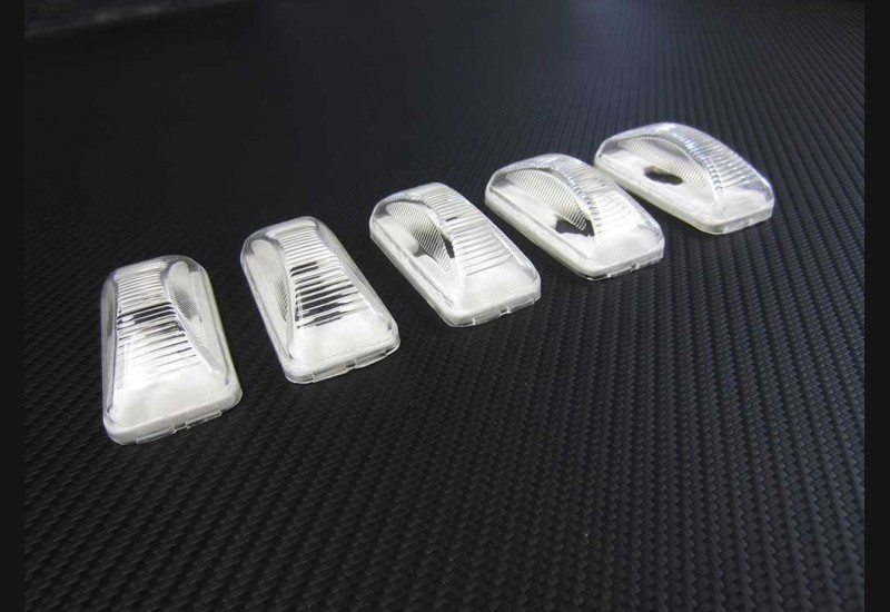 1973-1987 Chevrolet/GMC Truck Clear Tailgate lenses (aftermarket)