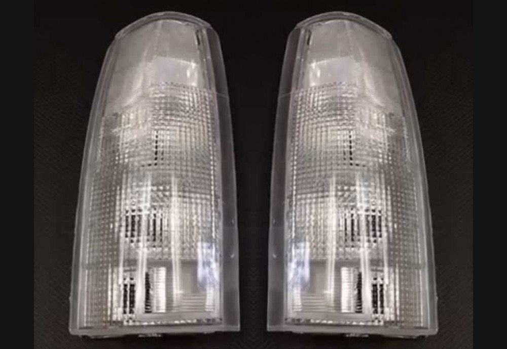 88-98 Chevy Clear Tail Light Lenses