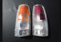 88-98 Chevy Clear Tail Light Lenses (OBS)