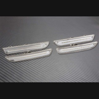 2010-2014 Mustang Clear Side Markers