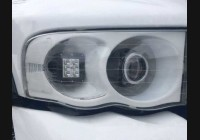 2002-2005 Ram Clear Headlight Markers.