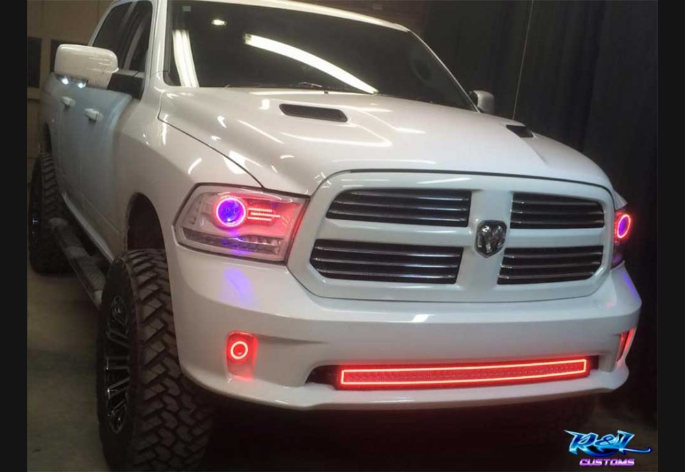 Dodge Led Headlights >> 2013-18 Ram Clear Headlight Marker Lenses