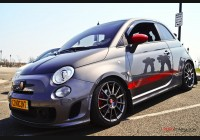 2011+ Fiat 500  Clear Front Side Markers