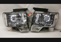 2009-2014 F-150 Clear Headlight Markers (Halogen)