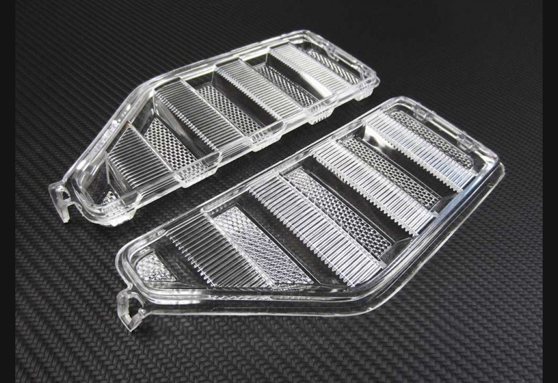 2017-19 Superduty Clear Headlight Markers (LED).