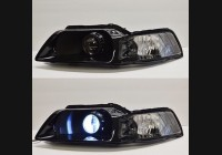 1999-2004 Mustang Clear Headlight Markers.