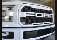 2015-2017 F-150 Raptor Clear Grill Lenses.