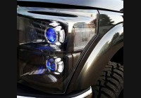 2011-2016 Superduty Clear Headlight Markers