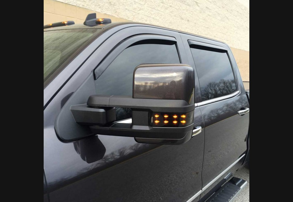 2014 Silverado Clear Mirror Lenses