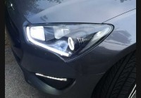 2013+ Genesis Clear Headlight Markers