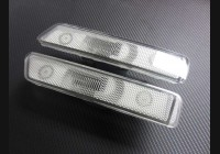 1978-1995 924 944 Clear Front and Rear Side Markers