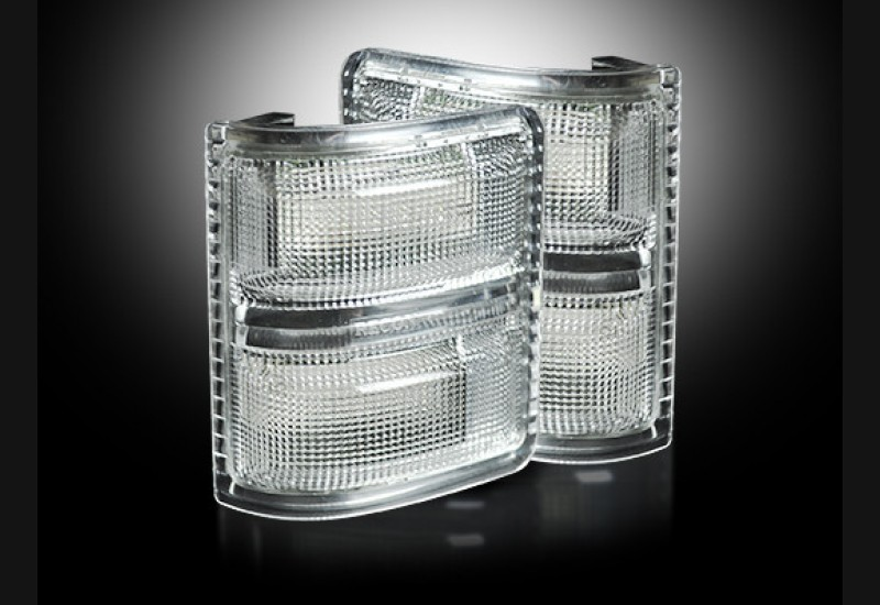 2008-16 Superduty Clear Mirror Lights