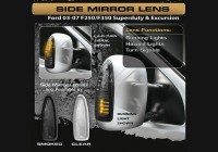 2003-07  Superduty Clear Mirror lights