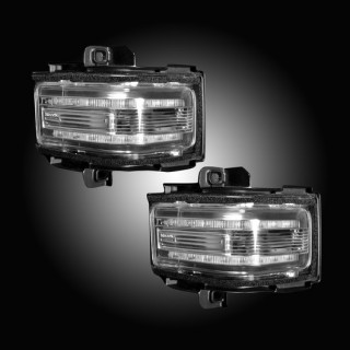 2017-19 Superduty Clear Mirror Lights