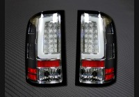 2007-13 Sierra Clear Recon C-Bar Tail Lights