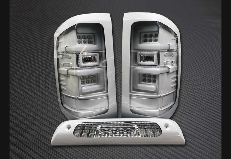 2015-19 Sierra Dually Clear Recon Tail Lights