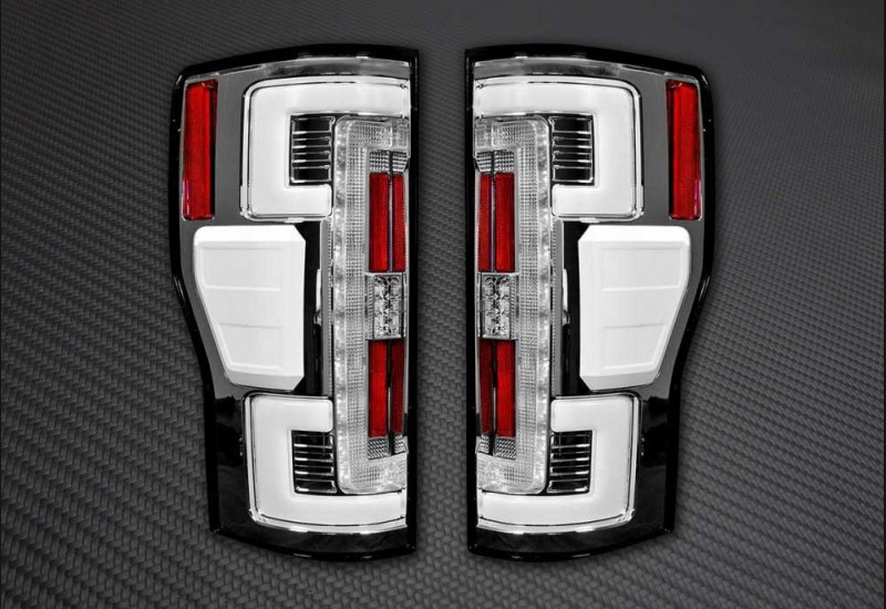 2017+ Superduty Clear Tail Lights